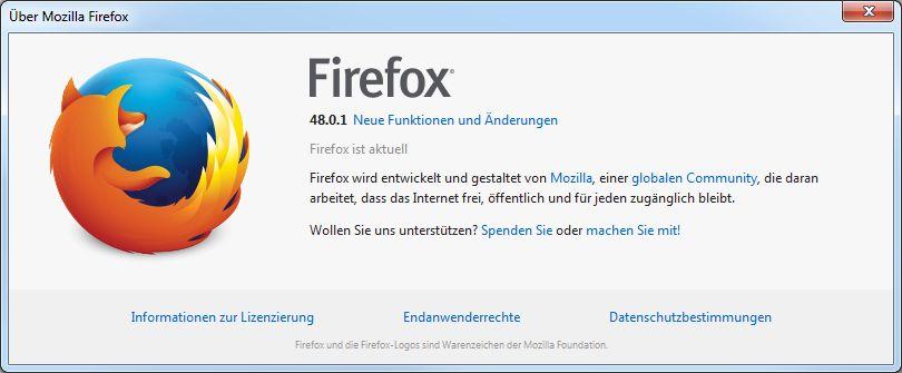 aktueller Firefox