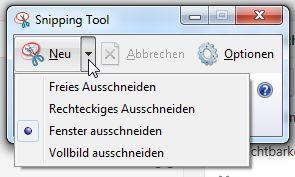 Auswahl Werkzeug