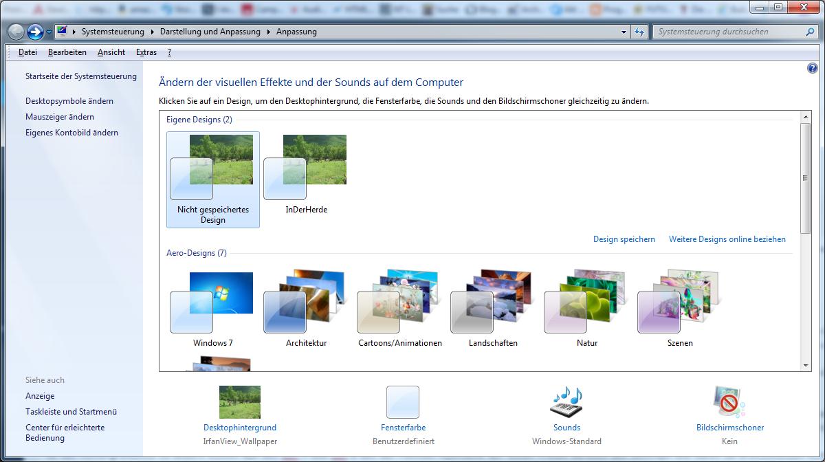 Systemsteuerung Desktop